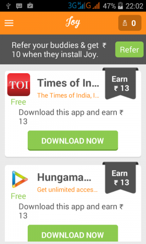 New free recharge apk joy | sanath